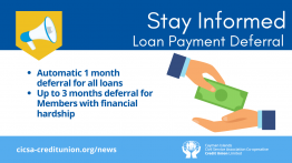 Loan Payment Deferrals Approved Starting April