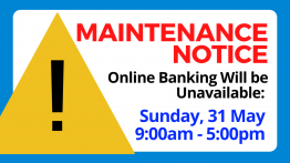 Online Banking System Maintenance 31 May